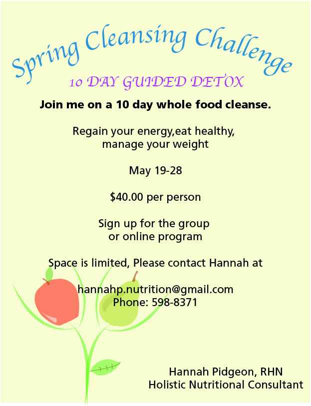 Spring Cleansing Challenge
